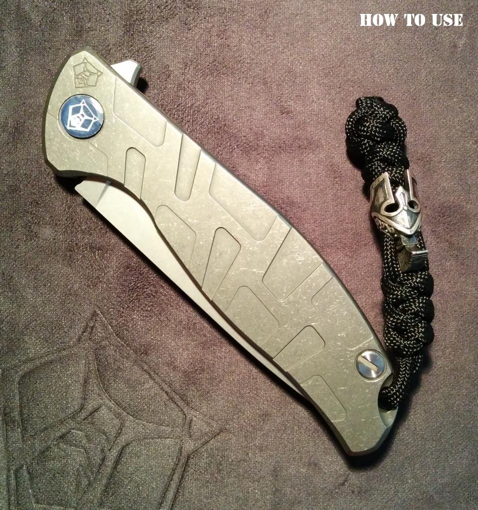 "Custom Sword Knot ""Raven"" Limited Edition - фотография"