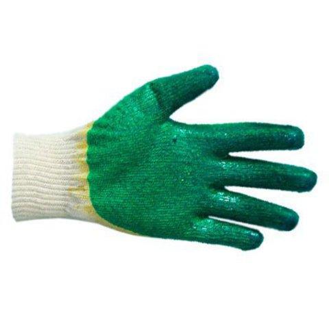 Перчатки рабочие трикотажные с 2-м латексным покрытием