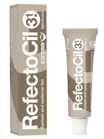 Краска для бровей и ресниц REFECTOCIL, 15 мл. Цвет -  светло-коричневая-3.1