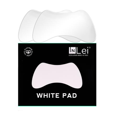 InLei®  Многоразовые защитные патчи WHITE PAD, упаковка 2 пары