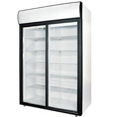 Шкаф холодильный POLAIR DM114Sd-S (1402х945х2028, 0,35кВт, 220В),  +1…+10 °C,  1400л (дверь – купе)