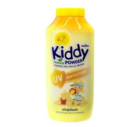 Детская пудра с защитой от солнечных лучей Mistine Kiddy natural powder uv protection  100 гр.