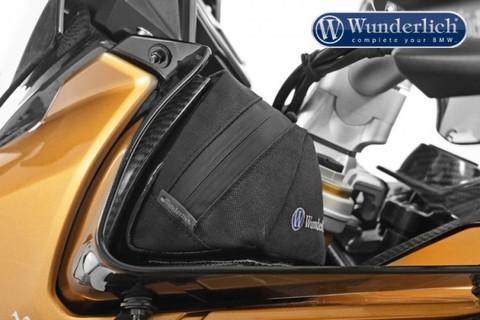 Сумка на боковые спойлеры BMW S1000XR - черный