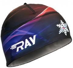 Лыжная шапка RAY RACE радуга принт