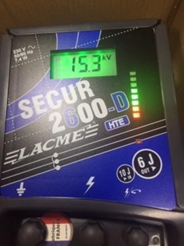 Генератор SECUR 2600-D HTE, 220 вольт