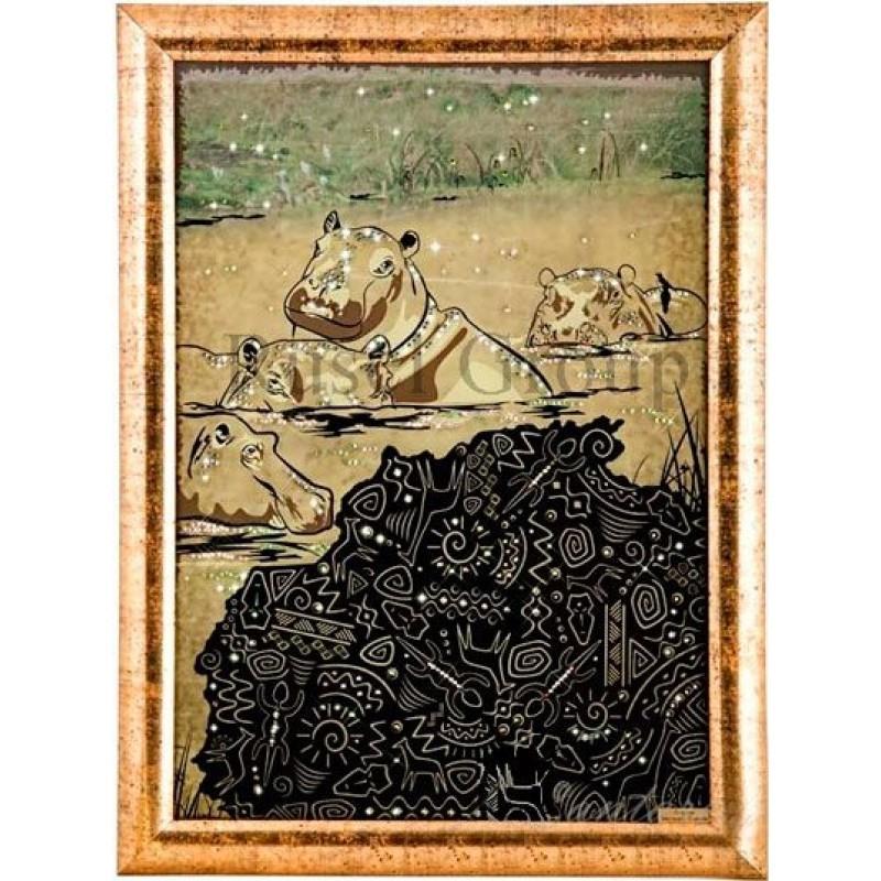 Картина Kantarel Бегемоты 257.107.74.0
