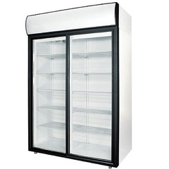 Шкаф холодильный POLAIR DM110Sd-S (1402х710х2028, 0,31кВт, 220В),  +1…+10 °C,  1000л (дверь – купе)