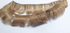 Волосы для кукол, трессы короткие (для мальчика или челки), длина 4-5 см, ширина 45-50 см, 2 шт в наборе.