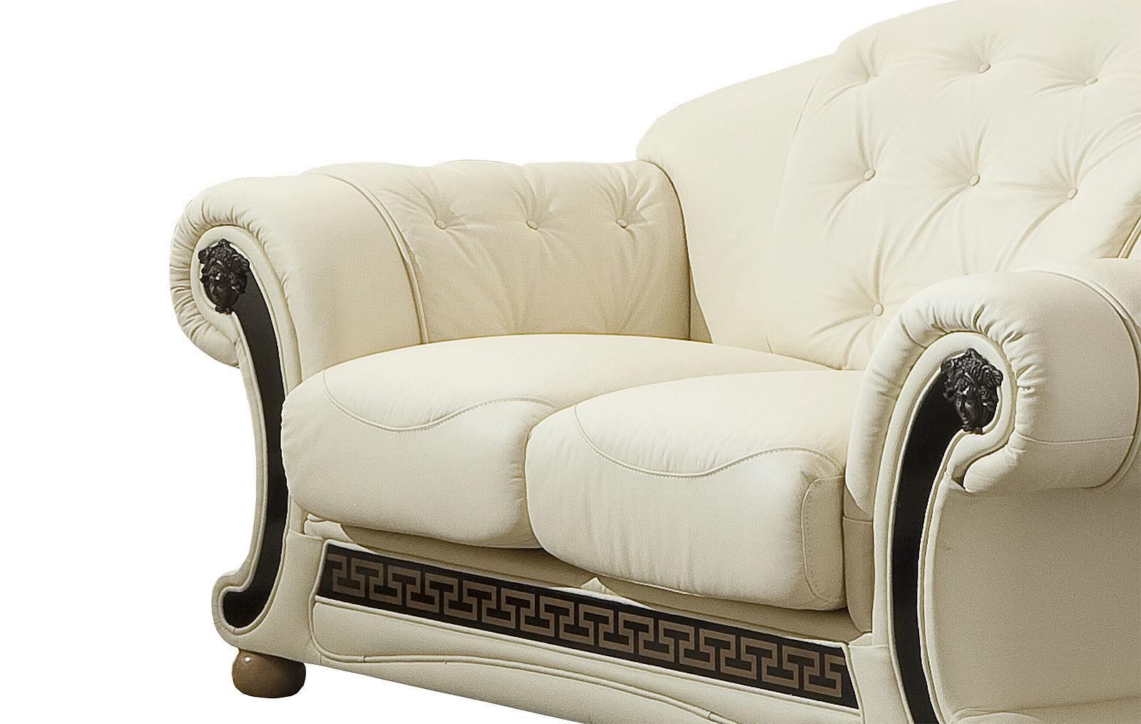 Диван ESF Versace лавсит белый