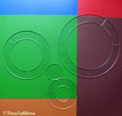 Линейки для стежки кругов и квадратов