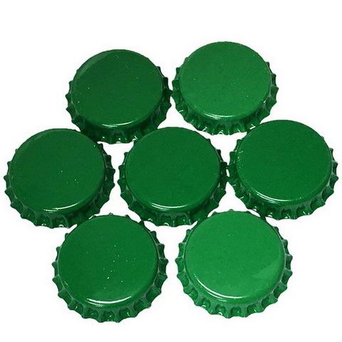 Набор кроненпробок 21 мм, 80 шт, зеленые