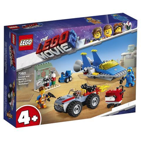 LEGO Movie: Мастерская Строим и чиним Эммета и Бенни 70821 — Emmet and Benny's 'Build and Fix' Workshop! — Лего Муви Фильм