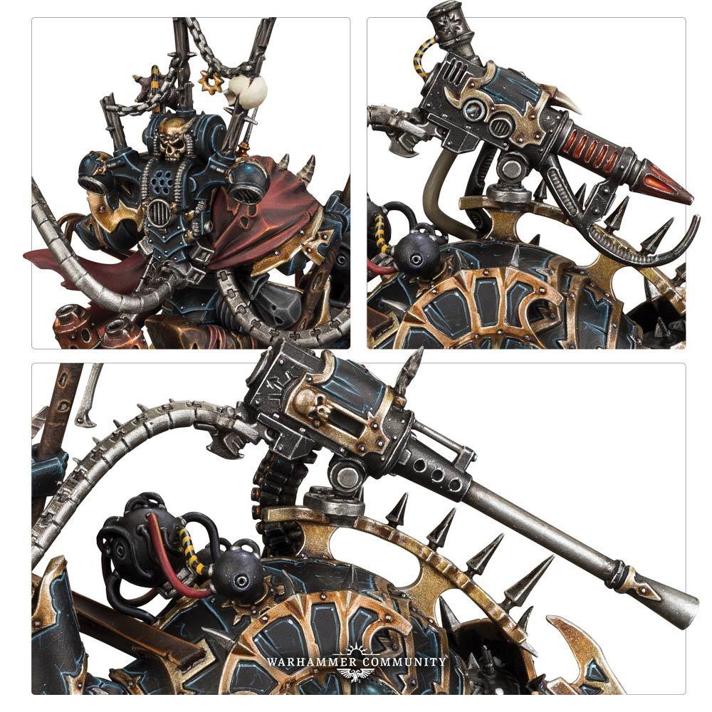 Chaos Space Marines Vex Machinator (Lord Discordant)