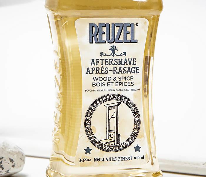 CARE145 Лосьон после бритья Reuzel Wood & Spice Aftershave (100 мл) фото 02