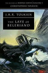 Lays of Beleriand (History of Middle-Earth)