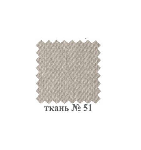 Стул М19 деревянный белый, ткань 51