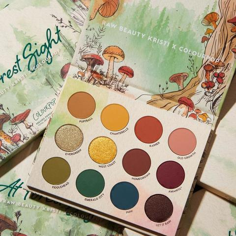 ColourPop At Forest Sight palette