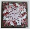 """Часы настенные """"Цветочный сад"""""""