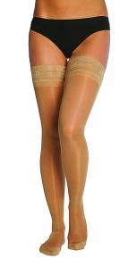 Компрессионный трикотаж и корректирующее белье Чулки женские с ажурным верхом, компрессионные (Трикотаж профилактический, 15-18 мм. рт. ст.) prod_1243870399.jpg