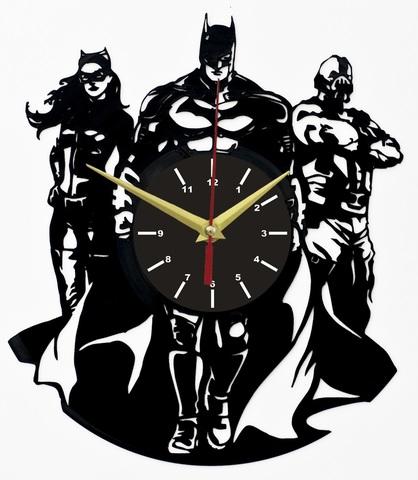 Бэтмен Темный рыцарь Часы из Пластинки — Возрождение