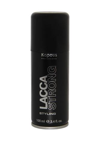 Лак аэрозольный для волос сильной фиксации «Lacca Strong» 100 мл