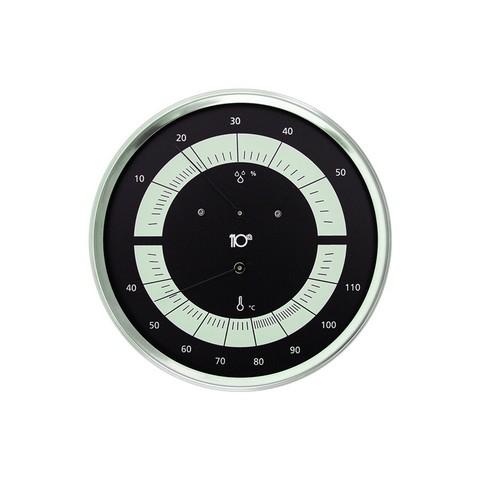 Термогигрометр Sentiotec черный Термогигрометр