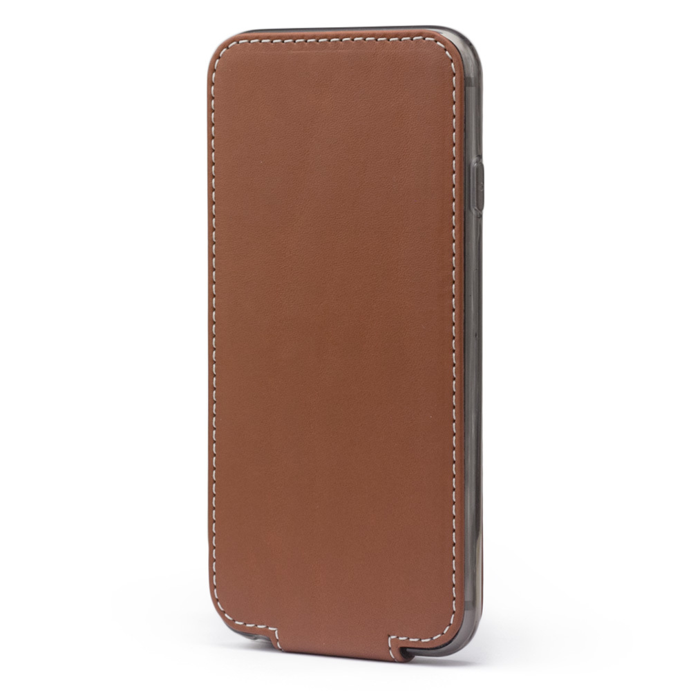 Чехол для iPhone 6/6S из натуральной кожи теленка, коричневого цвета