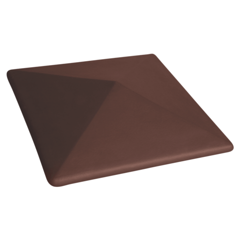 Колпак для столбов забора King Klinker, Коричневый (03) Natural Brown, 310x310x80