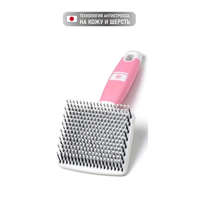 83486 - Мягкий сликер-пуходерка для короткой шерсти с особо чувствительной кожей