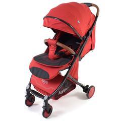 Nuovita Giro Прогулочная коляска, цвет - Rosso, Nero/Красный, Черный (D289_714)