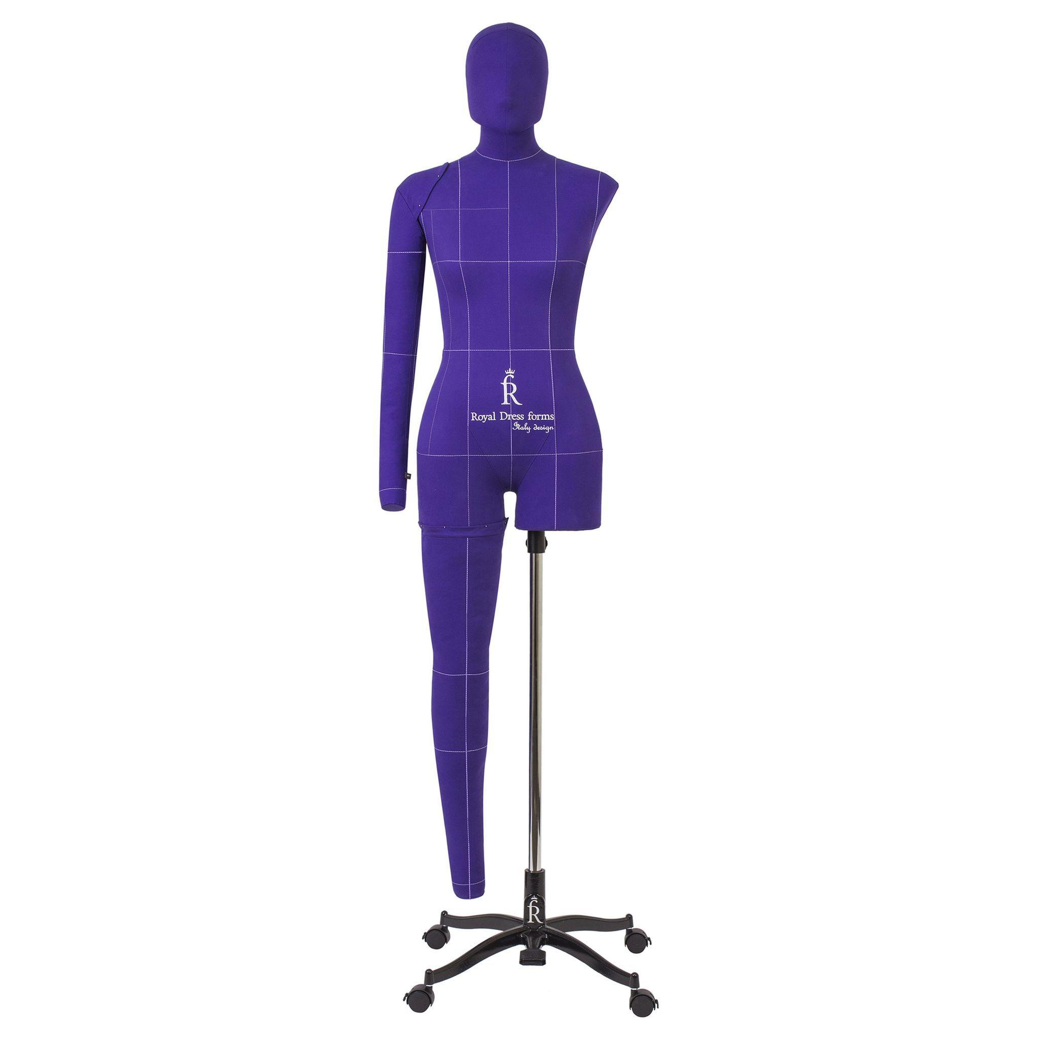 Манекен портновский Моника, комплект Арт, размер 44, ФиолетовыйФото 3