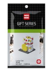 Конструктор Wisehawk Счастливая кошка 116 деталей NO. B37 Lucky Cat Gift Series