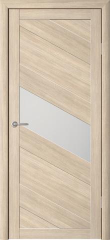 Дверь ALBERO Сингапур-1 (лиственница мокко, остекленная экошпон), фабрика Фрегат