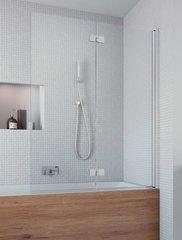 Шторка на ванну  Radaway Essenza New  PND 120 207212-01R праваая, крепится справа, профиль хром, стекло прозрачное 120x150см.