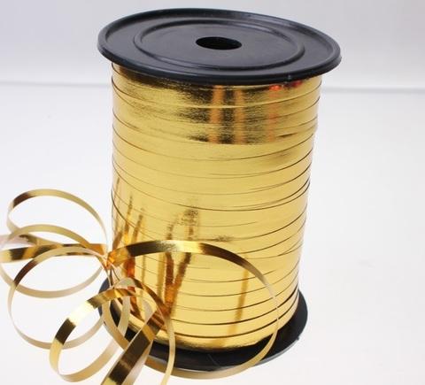 Лента металл на бобине Россия (размер: 5мм х 250ярдов) Цвет:золотой