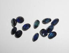 Сапфир синий 5 x 4 мм овал