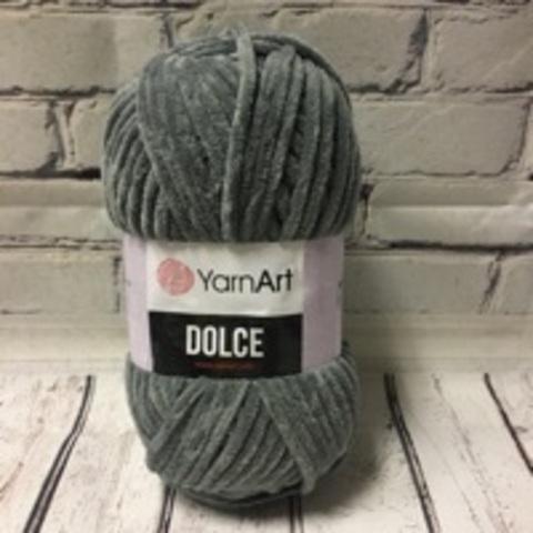 Пряжа Dolce YarnArt - (760 - Серый)