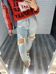 рваные джинсы женские недорого