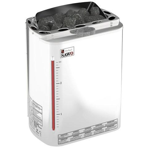 Электрическая печь SAWO MINI COMBI MNC-30NS-Z (3,0 кВт, с парогенератором, выносной пульт, внутри оцинковка, снаружи нержавейка)