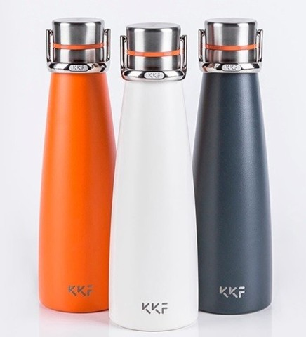 Умный термос Xiaomi Kiss Kiss Fish KKF Smart Vacuum Cup White 475ml