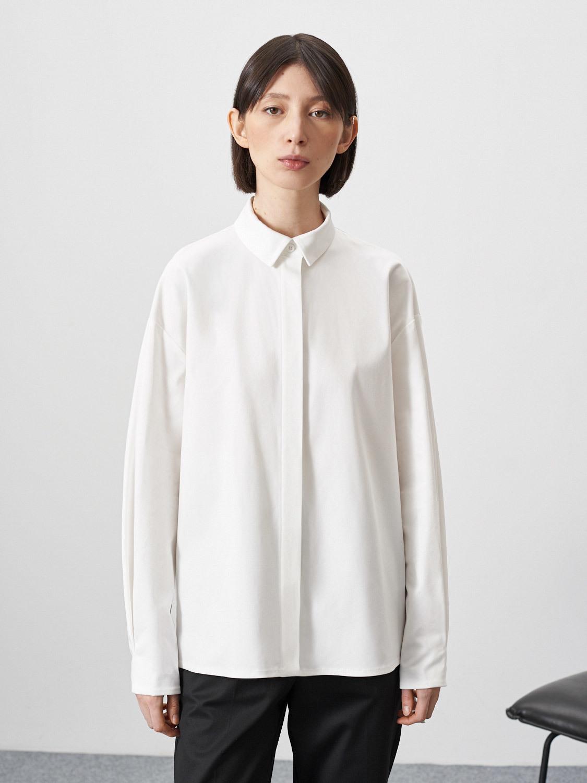 Блуза Goldy с удлинением сзади