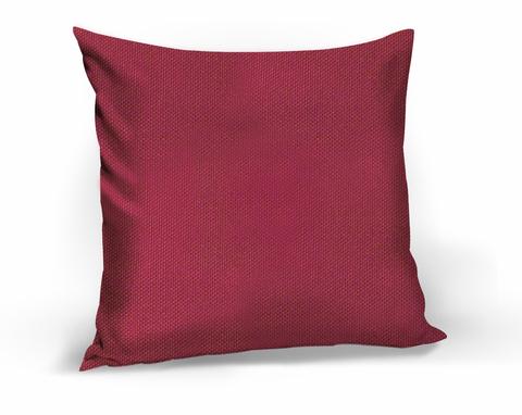 Подушка декоративная Адриана малиновый