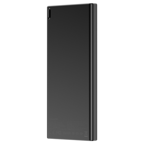 Аккумулятор Baseus Choc Powerbank 10000 mAh Black+Gray