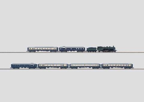 Набор Rheinhold (паровоз и 6 вагонов) MARKLIN 81426