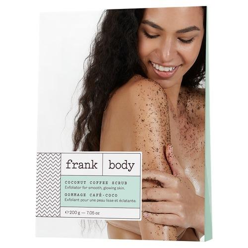 Скраб кокосово-кофейный для тела Frank Body Coconut Coffee Scrub 200гр