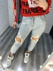 рваные джинсы женские nadya