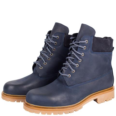496478 ботинки мужские синие. КупиРазмер — обувь больших размеров марки Делфино