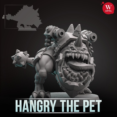 Hangry, Da Boss Pet
