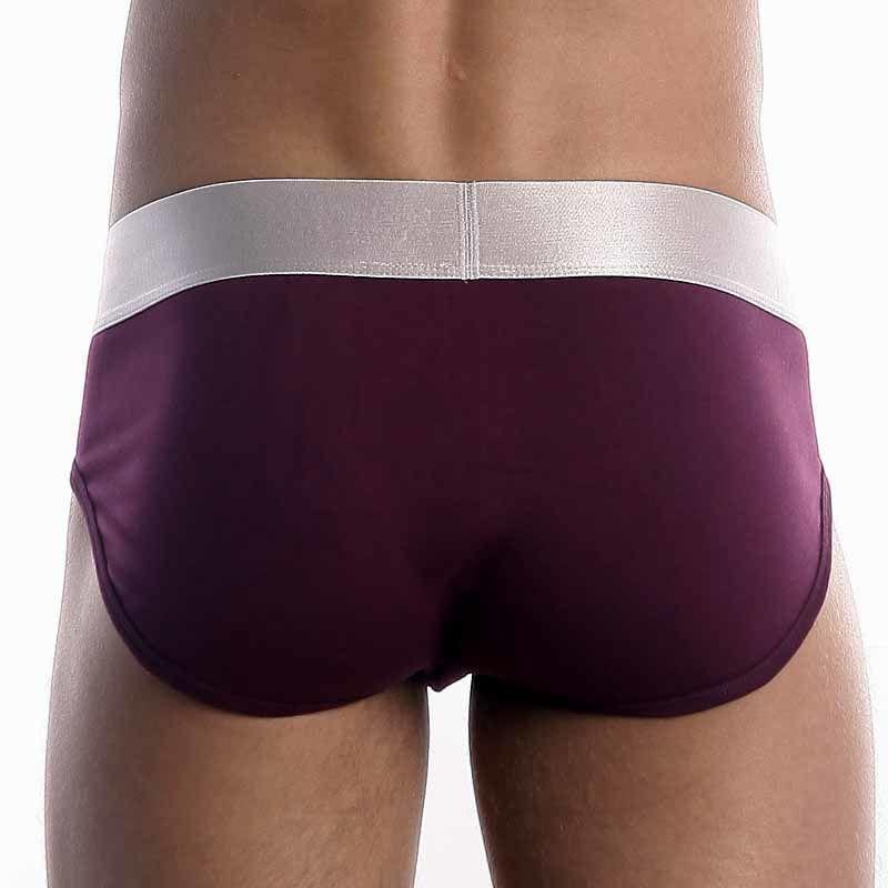 Мужские трусы брифы Calvin Klein Brief Steel Purple