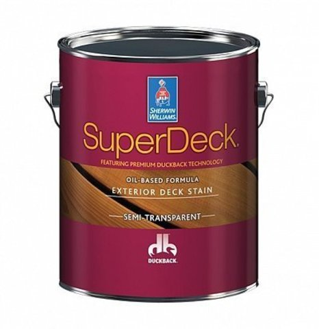 Super Deck Oil-based Semi-Transp. stain масло галлон